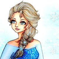 Elsa-Frozen by CreativeCarrah