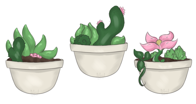 plants? [ gift for lowlife-rawby ] by oh-no-Castiel