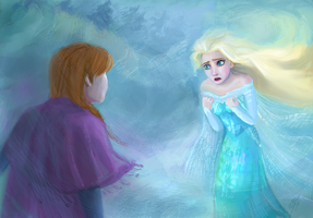 I can't stop a winter - Frozen by DreamyNatalie
