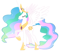 Princess Celestia of Equestria by Heart-Of-Stitches
