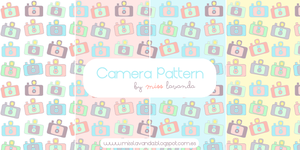 Flash Camera Patterns for Photoshop and .png by MissLavanda