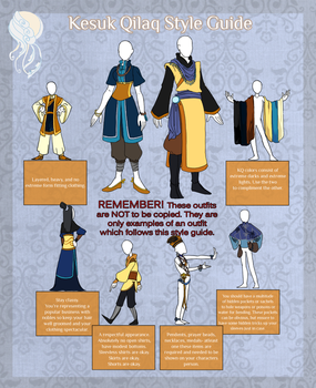 Kesuk Style Guide by Raybucho