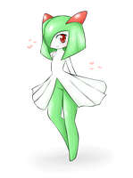 Pokemon- Kirlia by Mikosilverneko