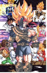 dbz x power rangers 80percent complete by trunks24