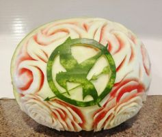 Hunger Games Watermelon by Stephanefalies