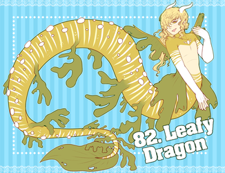 82. Leafy Dragon [CLOSED] by xCastra