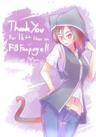 really, thank you~! by BlueMagenta
