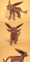 Espeon sculpture by Iron-Zing