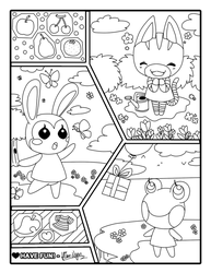 A Wonderful Life Coloring Book Charity Project By Hime Nyan