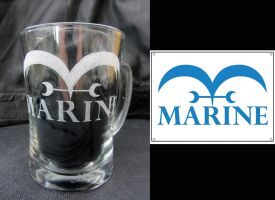 Marine logo from One Piece by LanviL