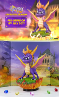 First4Figures Spyro Statue Unveiled by sapphire3690