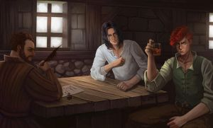 The tavern of Waystone by emmgoyer7