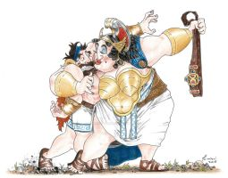 #9 Hippolyta's Gridle - 12 Labours of Hercules by LorenzoLivrieri