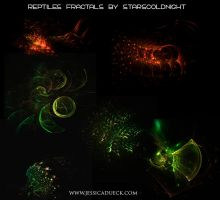 Reptile skin fractals by starscoldnight by StarsColdNight