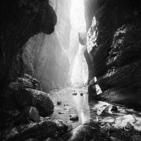 Avakas Gorge by sican
