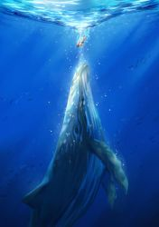 whale by minland4099