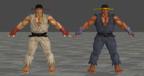SFV Ryu C1 XPS Model by Chrissy-Tee