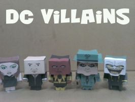 Cubeecraft Dc Villains by RatedrCarlos