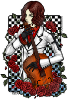Byron - rose and cello by zero0810