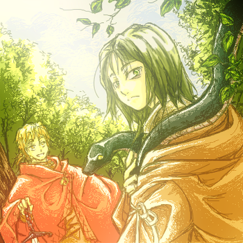 HP - Godric and Salazar by orrie-g