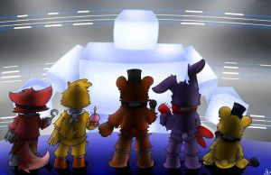 The Final Boss (FNaF World) by SaundveyvPay