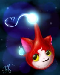 Jibanyan Imp by DiamondDiancie10