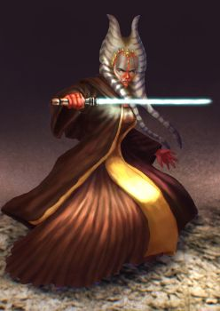 Shaak Ti by cric