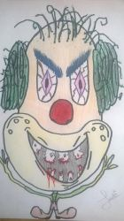 Crazy Clown-full color by heavenly-roads