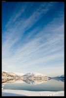 PerspectiveCloudsOverMountain by sirlatrom
