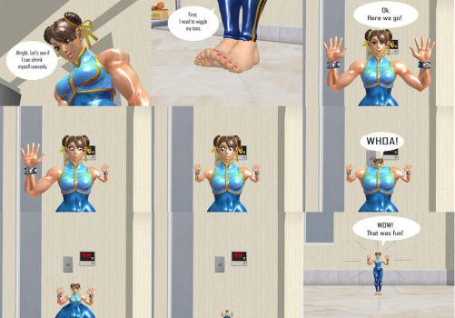 Chun-li's Uneven Shrinking by 1994semaj