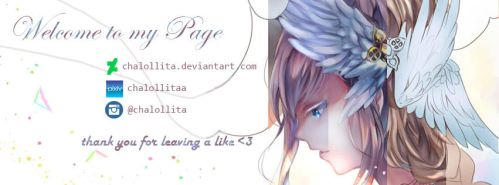 Hello Banner from me by chalollita