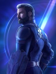 Captain America by YueQing