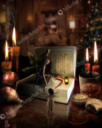 Christmas Faery Tale by angel1592