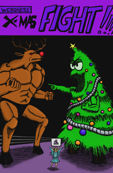 Weirdness #68 - X-Mas FIGHT!!! (CoLoRs) by JJ422