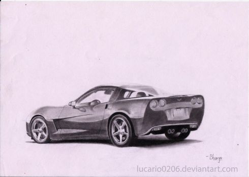 chevrolet corvette by lucario0206