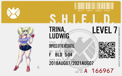 shield agent trina ludwig by connorm1