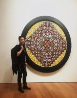 Michael Andrew Law and Damien Hirst Butterfly Art by michaelandrewlaw