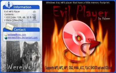 Evil Player by werewolfdev