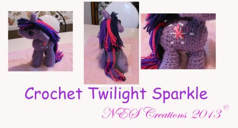 Crochet Twilight Sparkle by Zero23