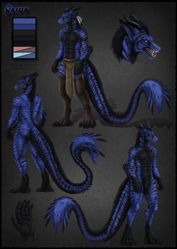 Gaius Reference Sheet by Sidonie