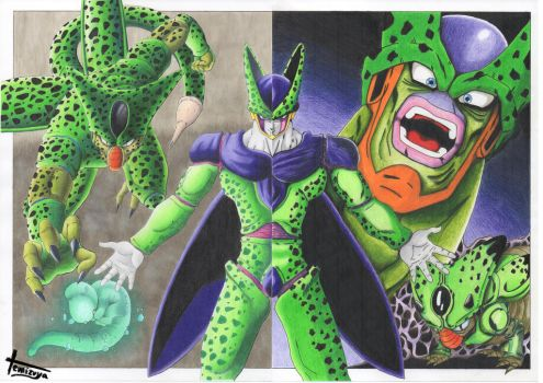 All Cell's Transformations - Complete by Temizuya