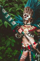 Guild Wars II Tribal armour cosplay by Nyima-chan