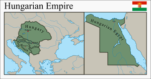 Hungarian Colonial Empire by EntrerrianoMaps