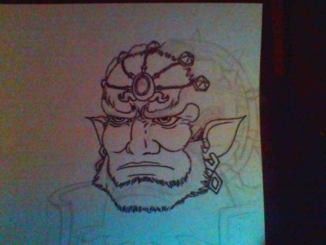 Ganon Rough Draft by MaddociousTheEnigma