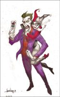 Joker and Harley by Apolo16