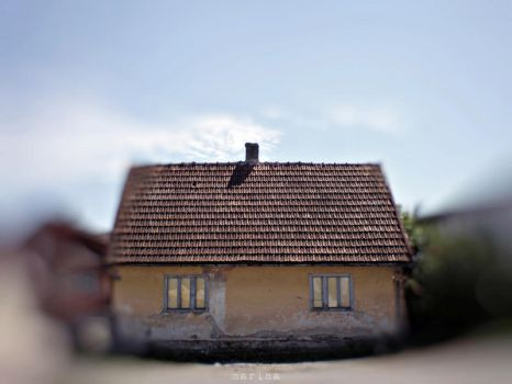'Happy' Little House by MarinaCoric