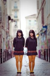 Twins - 4 by matmoon