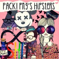 PACK! Png's Hipsters by TutosCrayon