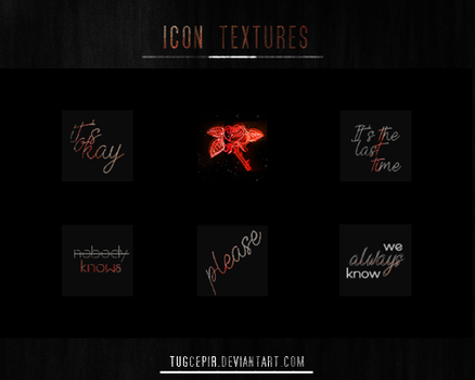 ICON TEXTURES #2 by TugcePir