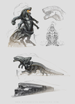 T1 Steamwraith doodles by Hydrothrax